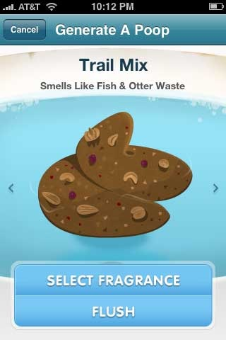 Funny poop the world iphone app review from krapps for Diarrhea smells like fish