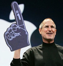 Steve Jobs foam number one