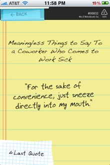 Coworkerisms-Sick