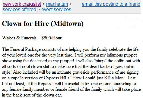 craigslist hookup how to become a prostitute