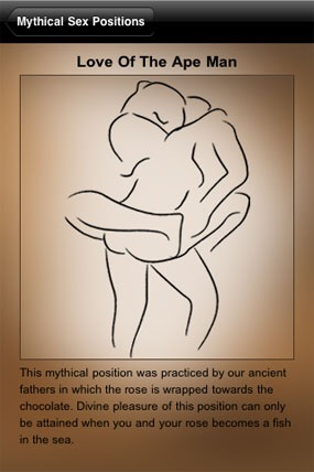 Mythical-sex-positions-1. Seriously, WTF is all this chocolate-rose, ...