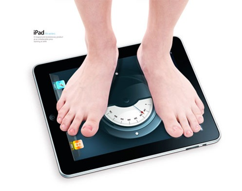 ipad-iweight-scale