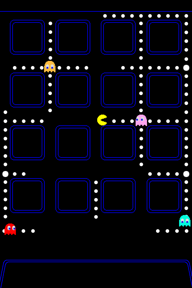 Ultimate Pac Man iPhone iOS 4 Wallpaper Collection [10