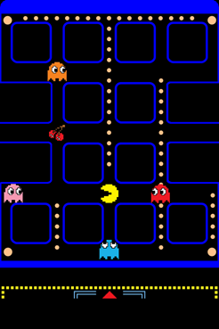 ultimate pac man iphone ios 4 wallpaper collection 10
