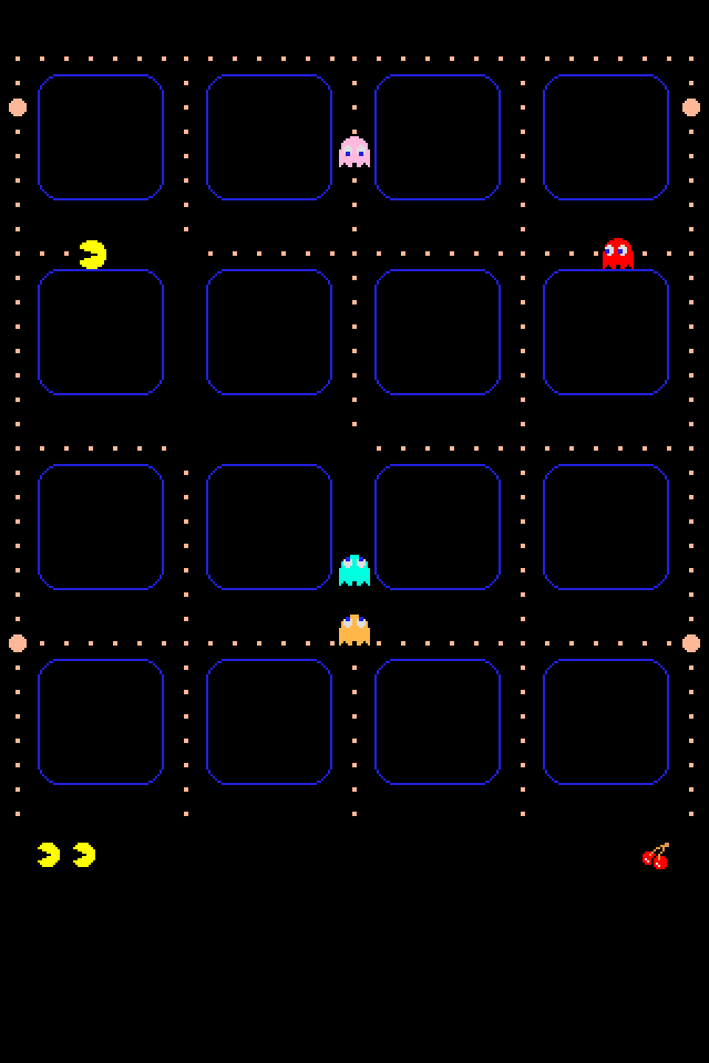 Ultimate pac man iphone ios 4 wallpaper collection 10 for Wallpaper home screen iphone 7
