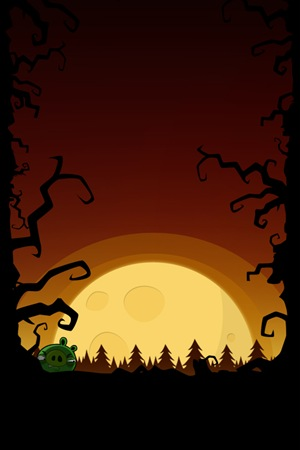 Angry Birds Halloween Wallpaper iPhone Home
