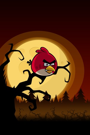 Angry Birds Halloween Wallpaper iPhone Lock