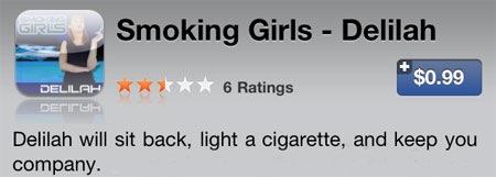 Smoking-Girls-iPhone-1