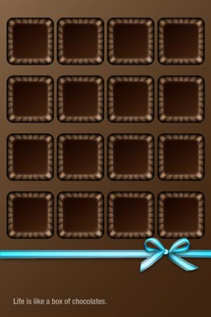 box of chocolates iphone