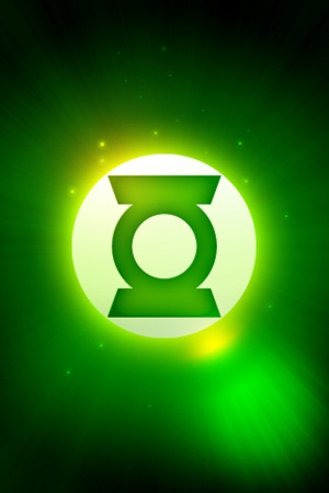 Green Lantern iPhone Lock