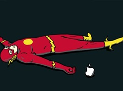 flash-apple-kill
